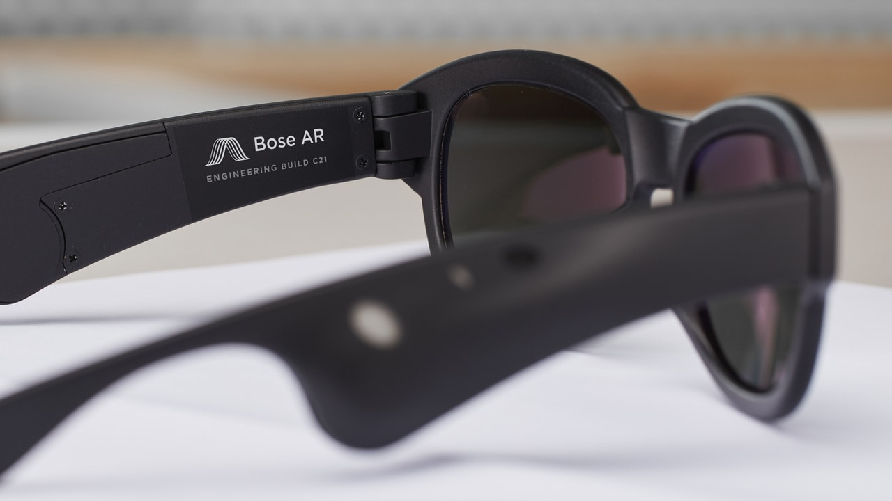 Bose's AR glasses to focus on audio, rather than visuals