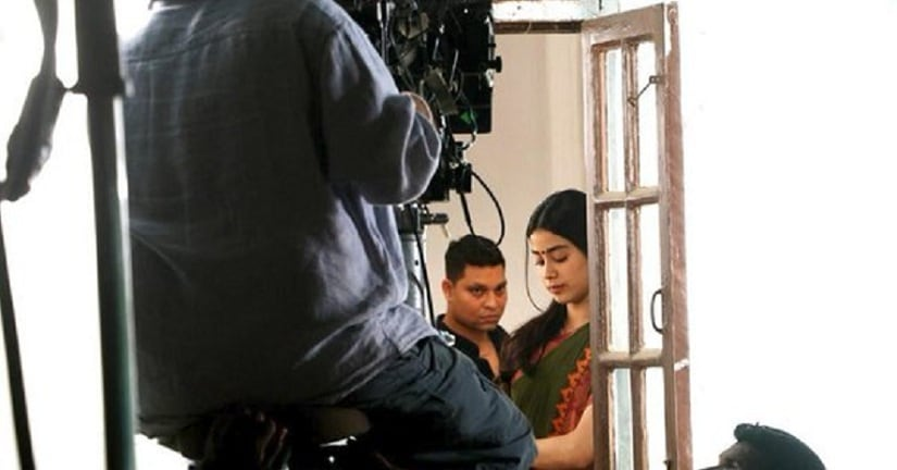 Photo! Janhvi Kapoor continues the shooting of 'Dhadak'