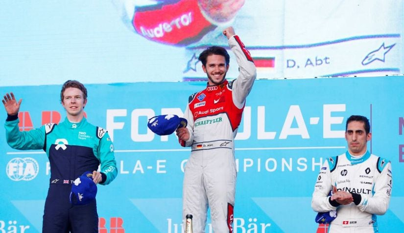 Felix Rosenqvist grabs Formula E pole position in Mexico City
