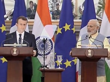 Emmanuel Macron in India LIVE updates: Defence ties between India, France have new gravity, says French prez
