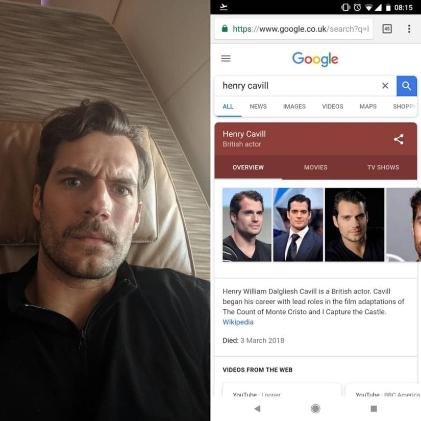 Henry Cavill took to Instagram to prove he's alive and breathing.