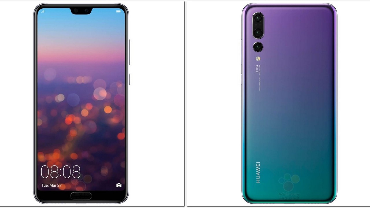 Huawei P20 Lite with a notch revealed in a new hands-on video