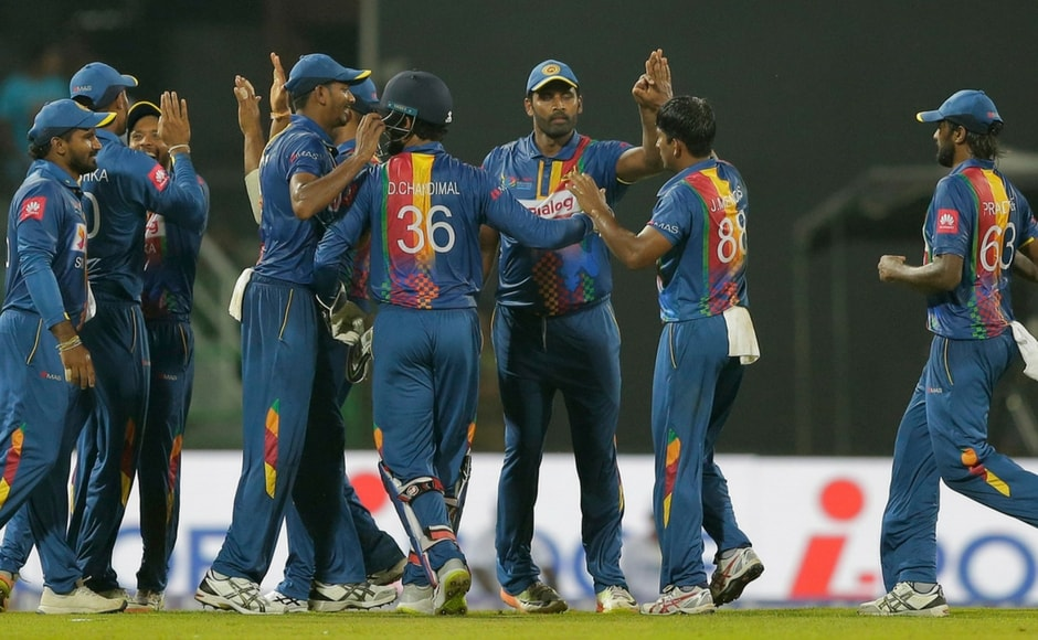 However, the Lankans picked up wickets at regular intervals to unsettle the inexperienced Indian batting to restrict them to a total of 174. AP