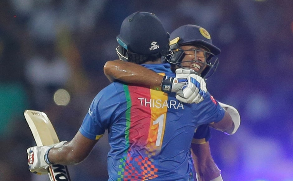Though Yuzvendra Chahal managed to take a couple of wickets to slow Sri Lanka down, it was a case of too little too late as the Island Nation galloped to victory with nine balls to spare. AP