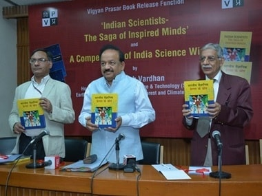 'Indian Scientists: The Saga of Inspired Minds' is a book that seeks to bring out the moments of inspiration of scientists