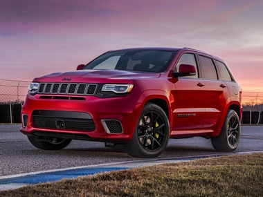 Jeep announces Grand Cherokee Trackhawk for European market at Geneva Motor Show