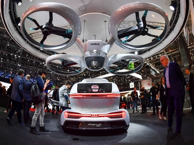 Flying cars debut at the Geneva Motor Show: Ready to fly, but drivers will need a pilot's license