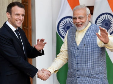Emmanuel Macron calls India 'partner of choice' as he discusses defence, trade ties with Narendra Modi