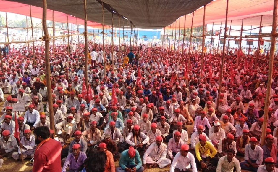 Maharashtra farmers march: Protesters set out to gherao Vidhan Bhavan today, will ask for complete loan waiver