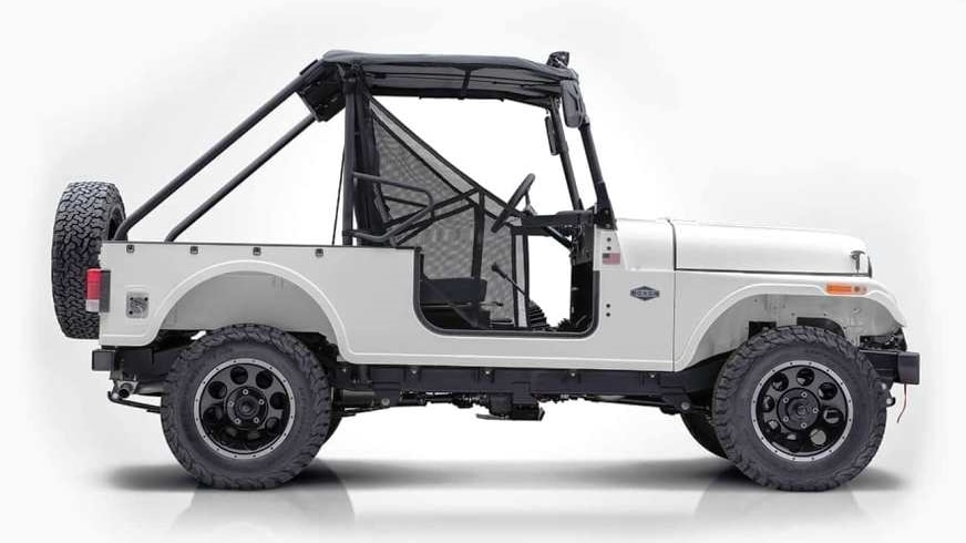 Mahindra Roxor Off Road Only Suv Unveiled In Us Expected
