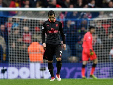 Premier League: Arsenal's Henrikh Mkhitaryan struggles to find consistency just when Arsene Wenger needs him the most
