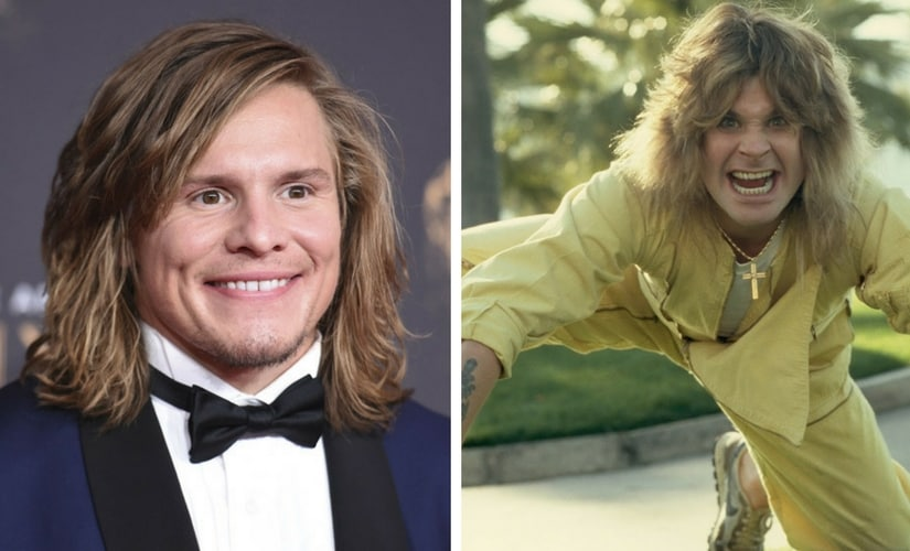 Tony Cavalero and Ozzy Osbourne/Image from Twitter.