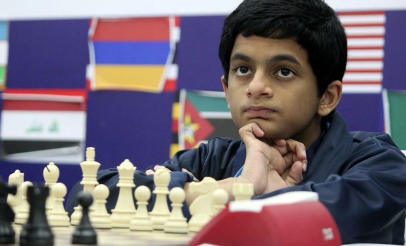 Nihal Sarin continued his good form. Lennart Ootes