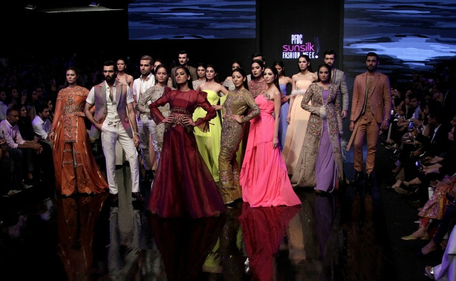 Pakistan Fashion Week in Lahore concludes with an array of colours; multiple designers showcased
