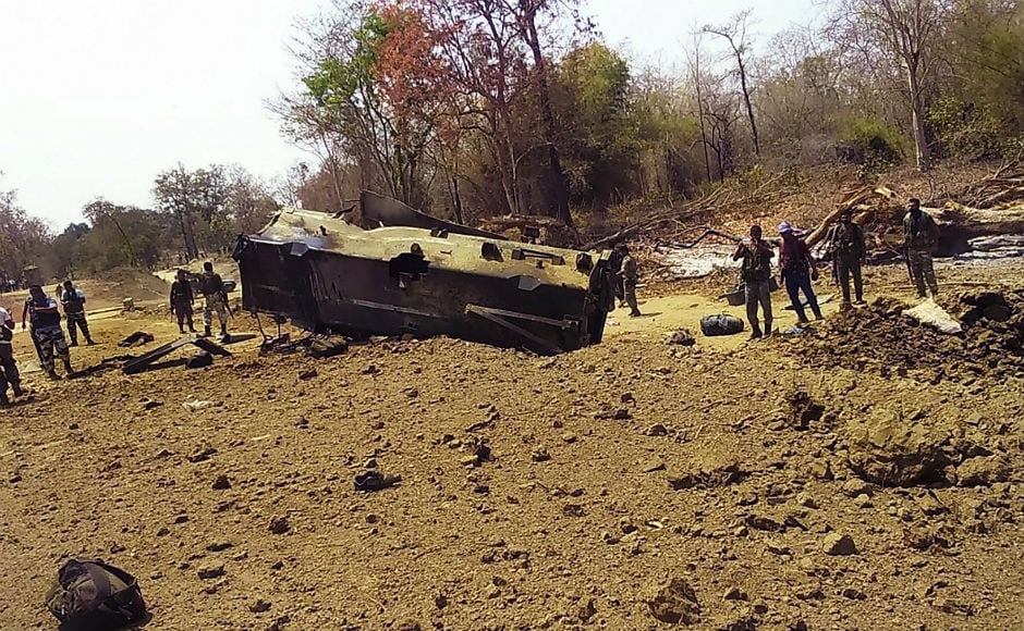 Nine Central Reserve Police Force (CRPF) personnel were killed on Tuesday in a suspected Naxal attack on their mine-protected vehicle in the Kistaram area in Chhattisgarh's Sukma district. PTI