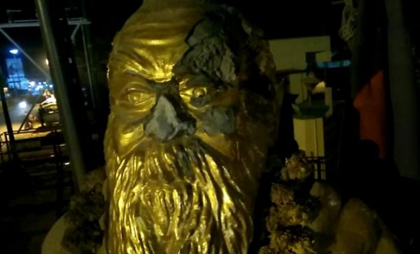 Periyar statue vandalised in Vellore, BJP office attacked in Coimbatore, 2 arrested