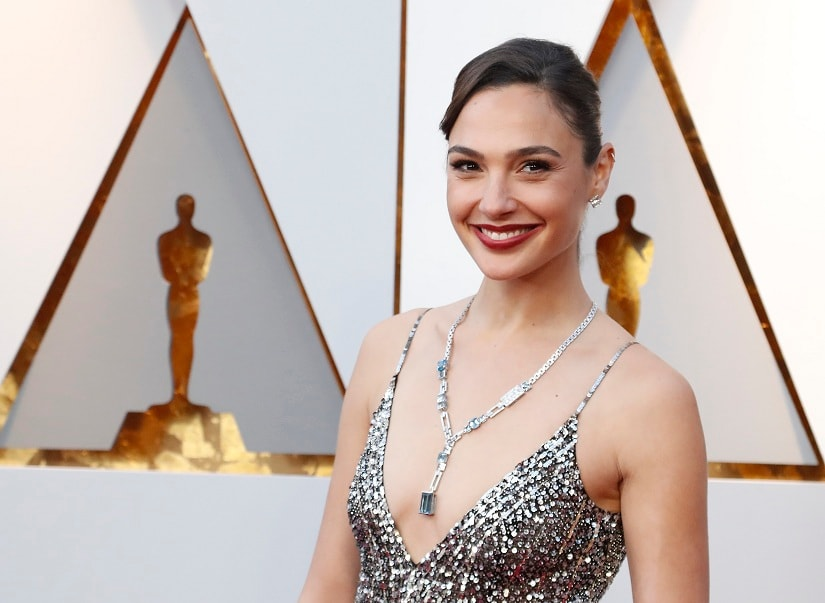 90th Academy Awards - Oscars Arrivals – Hollywood, California, U.S., 04/03/2018 – Gal Gadot wearing Givenchy. REUTERS/Mario Anzuoni - HP1EE3503G4WS
