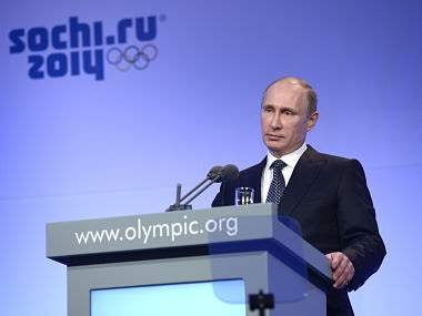 Vladimir Putin's order almost brought down a passenger plane, feared to be hijacked, ahead of Sochi 2014 Winter Olympics