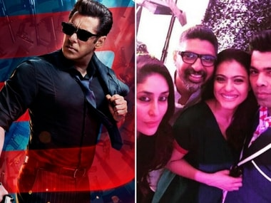 New Race 3 poster featuring Salman Khan; Kajol and Karan Johar pose together: Social Media Stalkers' Guide