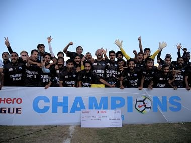 Minerva Punjab were crowned champions of I-League 2017-18. Agencies