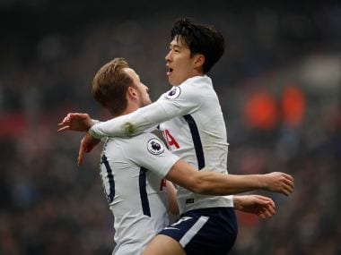Tottenham moved to third place in the Premier League with a win over Huddersfield Town at Wembley. Reuters