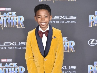 Black Panther's 10-year-old star Seth Carr earned $1000 a day for his role as young Killmonger