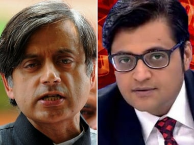 Shashi Tharoor, Arnab Goswami to depose in defamation suit related to Republic TV's reportage of Sunanda Pushkar's death