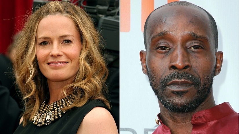 Elisabeth Shue and Rob Morgan. Image via Twitter