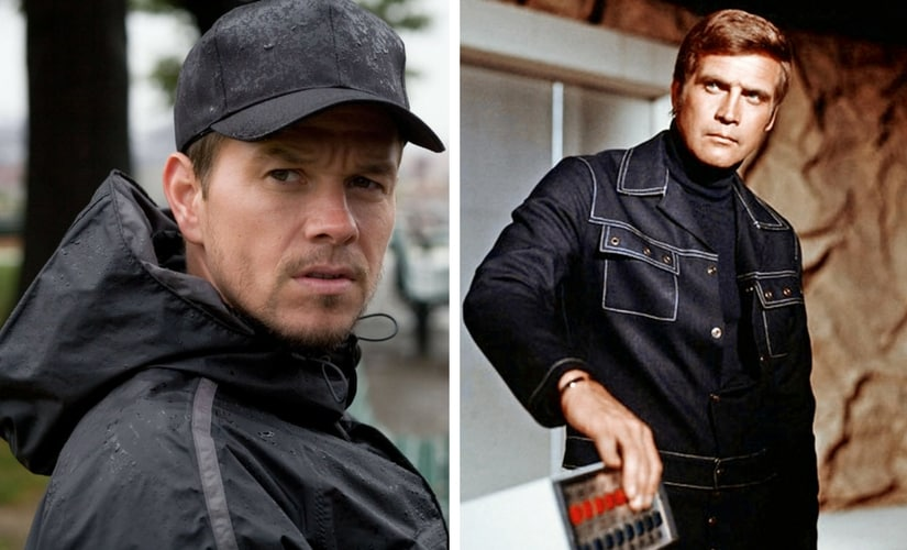 Mark Wahlberg and Lee Majors as Steve Austin/Image from Twitter.