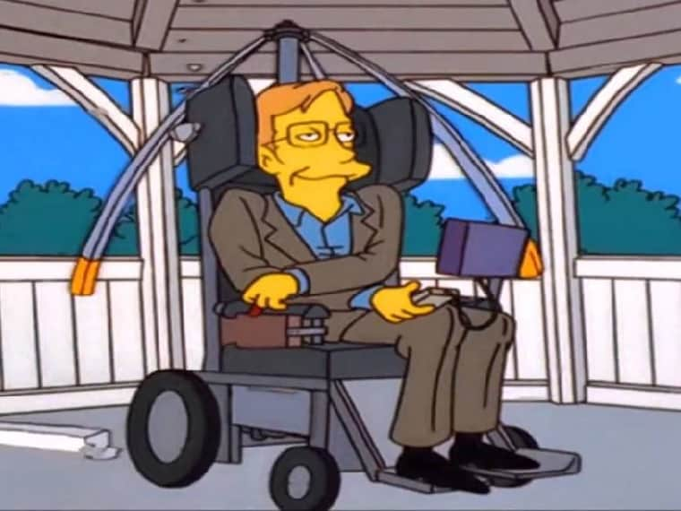 Stephen Hawking in The Big Bang Theory, Simpsons, Star Trek: A brief history of his pop culture appearances