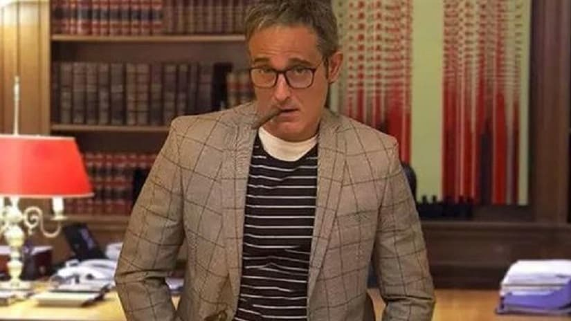 Akshaye Khanna in The Accidental Prime Minister. Twitter/ @republic