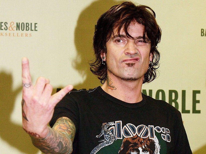 Tommy Lee. Image from Twitter/@TheTorontoSun