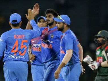 Shikhar Dhawan, bowlers help India beat Bangladesh, collect first points of Nidahas Trophy 2018