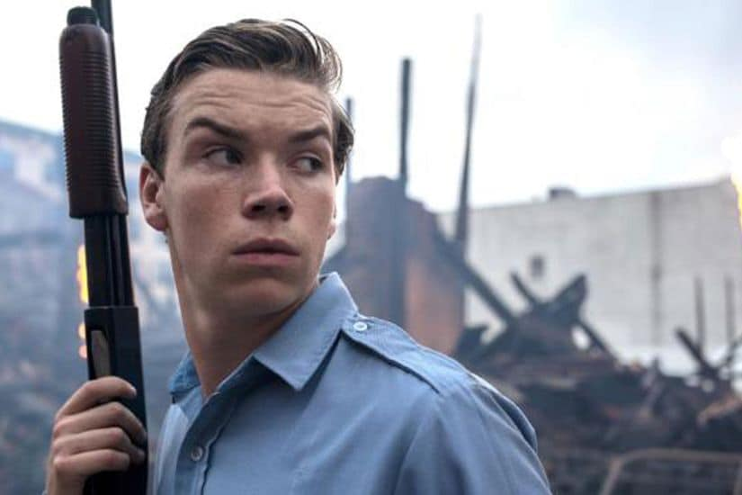 Will Poulter in a still from Detroit