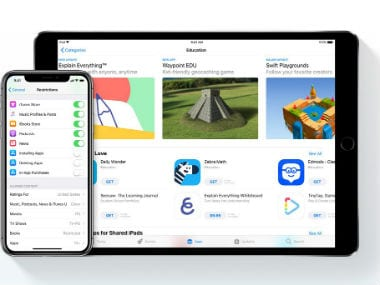 Apple adds 'Families' page on site to help parents track their kids' online activities on iOS devices