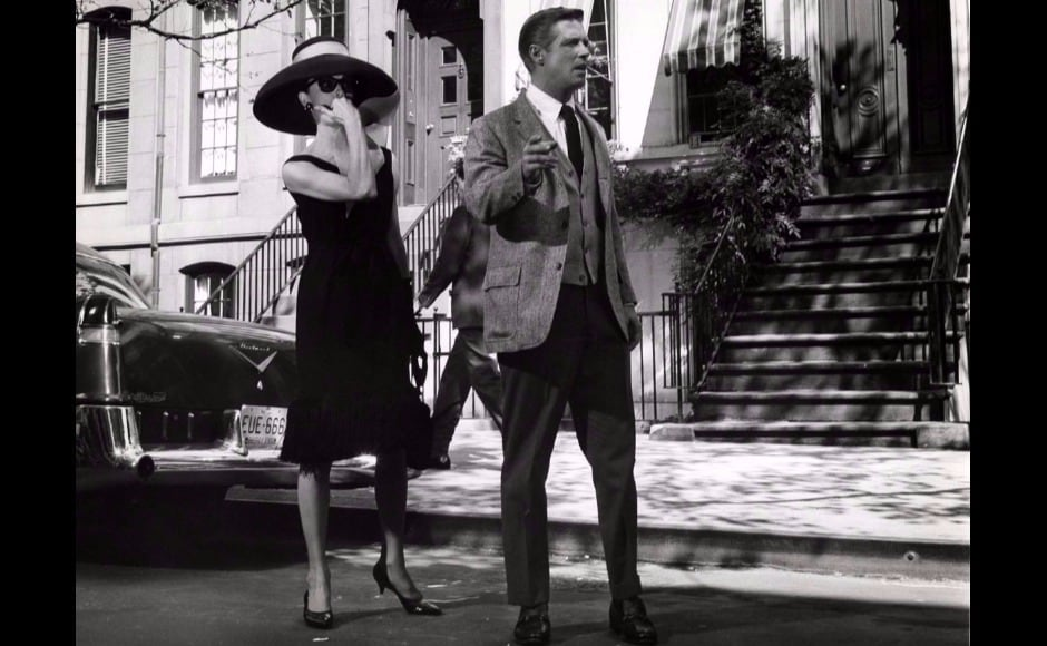 Givenchy's look for Audrey Hepburn in Breakfast At Tiffany's perfectly reflects his brand of chic, restrained elegance.