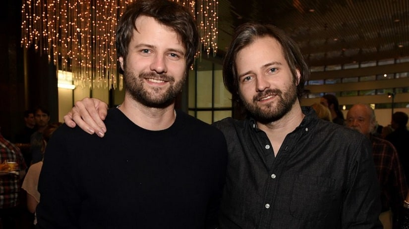 Stranger Things showrunners, the Duffer Brothers. Image from Twitter/@UpsideDownFacts