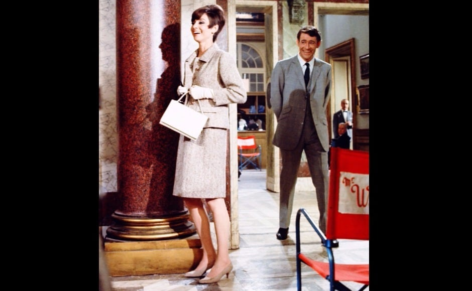 The narrow-collared suits and slim woollen dresses Givenchy designed for Audrey Hepburn to wear in How to Steal a Million emphasised their stature as style icons.