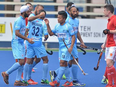 Indian players misfired a number of times in their match against England. Image Courtesy: Official Facebook page of Hockey India