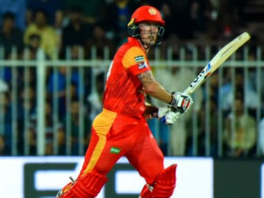 Luke Ronchi of Islamabad United in action in the PSL. Twitter/ @thePSLt20