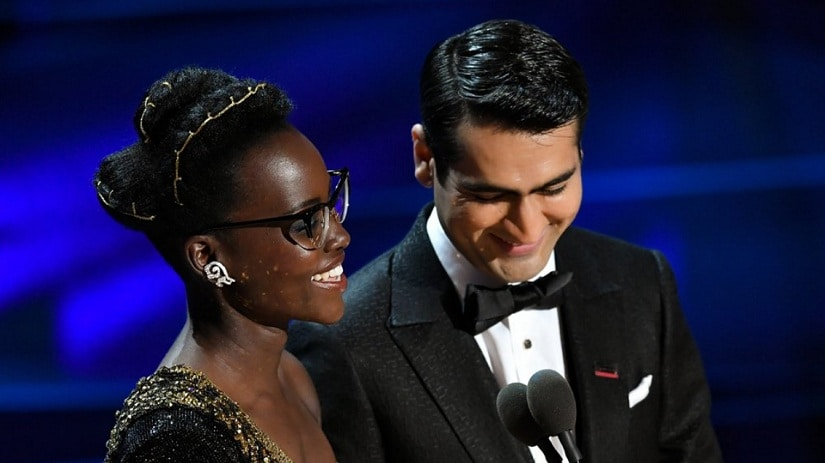 Lupita Nyong'o and Kumail Nanjiani Honor Immigrants at the Oscars