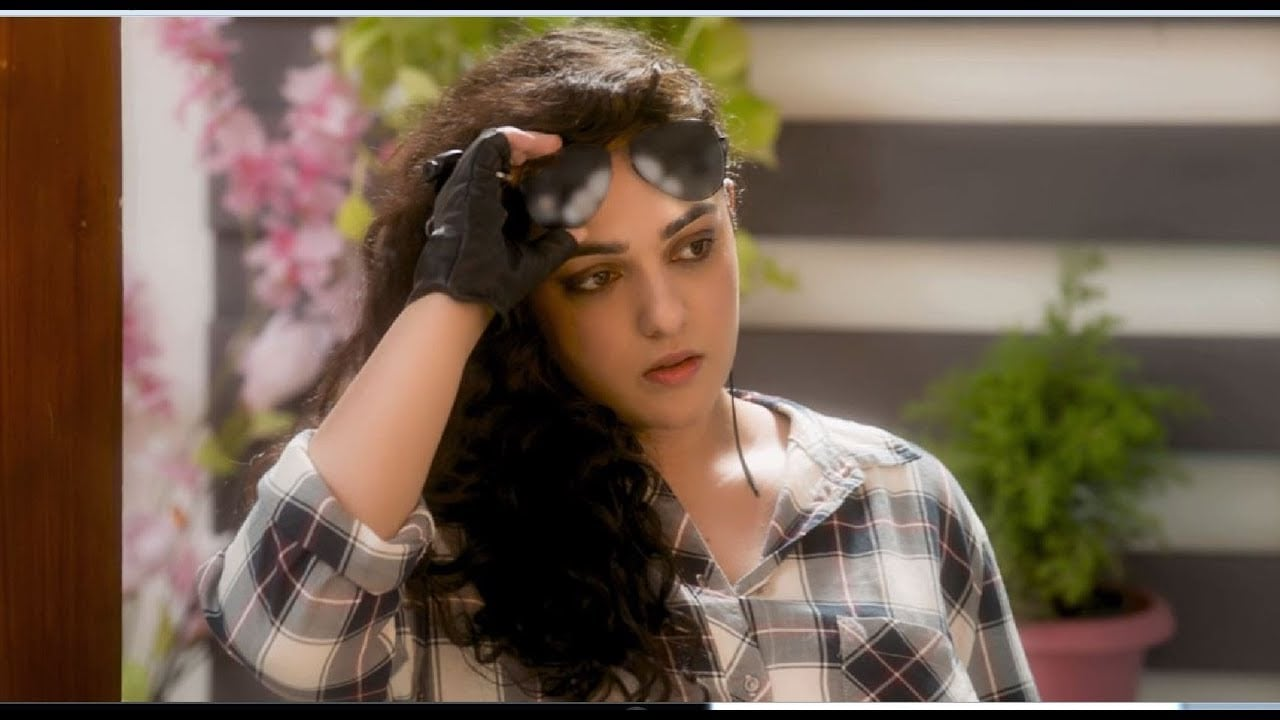 Nithya Menen in a still from Awe!. YouTube