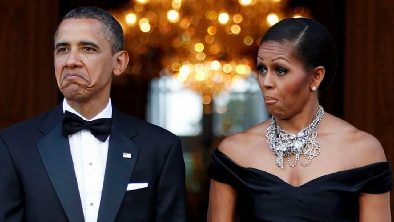 Barack and Michelle Obama. YouTube