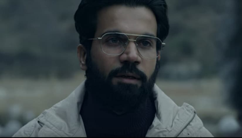 Rajkummar Rao in a still from Omerta. YouTube