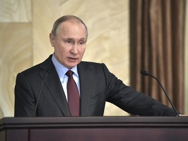 File image of Vladimir Putin. Reuters