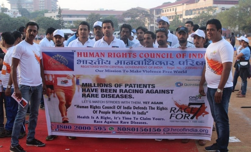 Racefor7 was a '7000 metre walk for 7000 rare diseases' organized by Human Rights Council of India and Organisation for Rare Diseases India on 25th February. Pallavi Rebbapragada/Firstpost