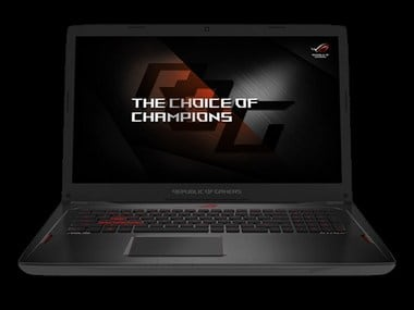 Asus ROG Strix GL702ZC gaming laptop with AMD's Ryzen 7 1700 CPU unveiled in India for Rs 1,34,990