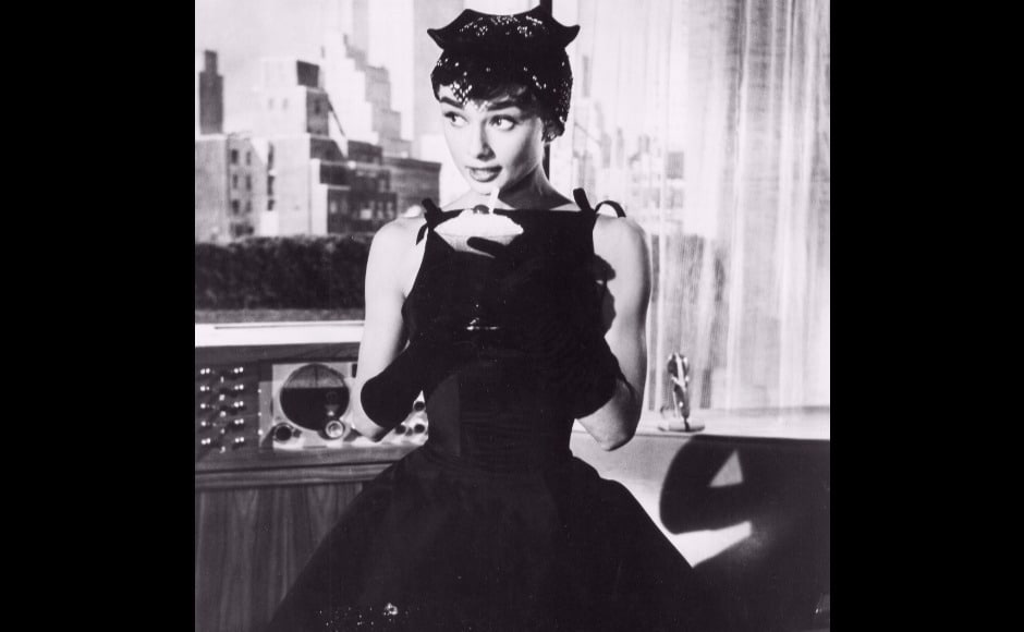 Their collaboration reportedly began when Hepburn approached Givenchy to design her costumes for her post-Paris-makeover look in Sabrina.