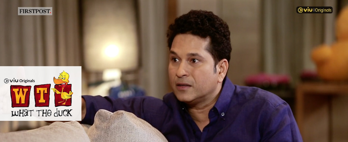 What The Duck: In conversation with Sachin Tendulkar