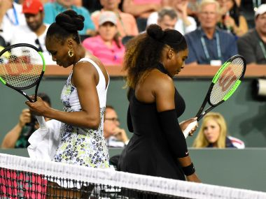 Image result for Venus Williams ends Serena's comeback in straight set at Indian Wells
